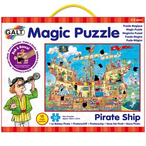 פאזל קסום - ספינת פיראטים גאלט - MAGIC PUZZLE GALT PIRATE SHIP