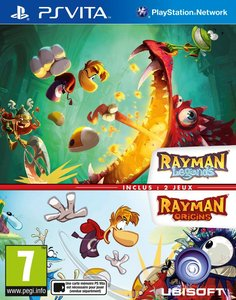 Rayman Legends And Origin PS Vita במלאי!