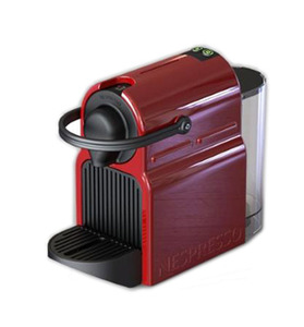 Nespresso Inissia c40re ruby red נספרסו