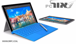 Microsoft Surface Pro 4 Core i7 256GB מיקרוסופט