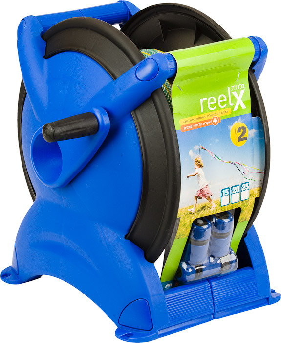 Click to enlarge the images for irrigation reel blue Reelx