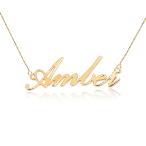 18k gold plated classic delicate name necklace name necklaces 18k gold plated classic delicate name necklace aloadofball Choice Image