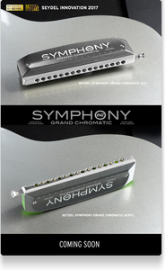 מפוחית כרומטית 16 SYMPHONY GRAND CHROMATIC SEYDEL