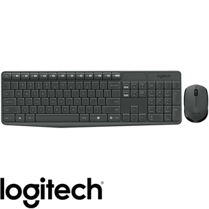 סט אלחוטי Logitech MK235 Wireless