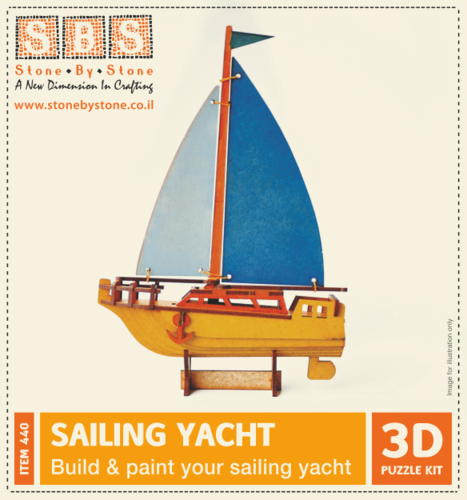 Sailing Yacht - Build and Paint