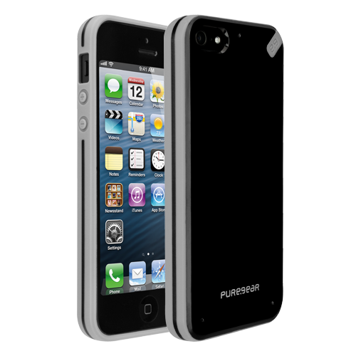 Slim Shell Case for iPhone 5S/5 - black